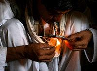 Afghan drug consumer (photo: AP)
