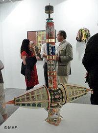 Exhibition hall at the Marrakech Art Fair (photo: MAF)