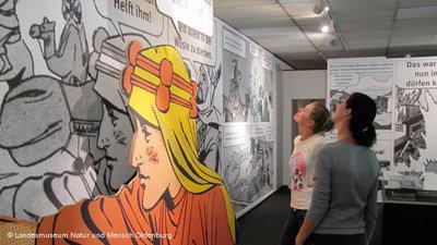 View onto the exhibition (photo: Landesmuseum Natur und Mensch Oldenburg)