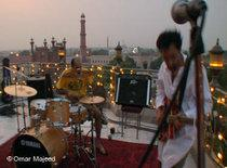 The punk band Taqwacore during a performance (photo: DW/Omar Majeed)