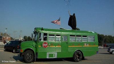 The Taqwacore tour-bus (photo: DW/Omar Majeed)