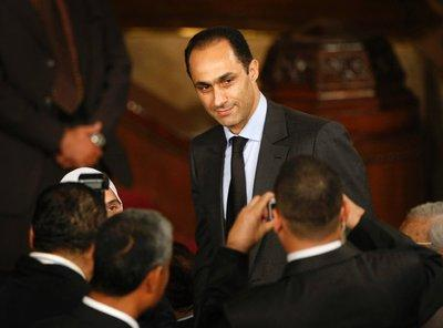 Gamal Mubarak (photo: AP)