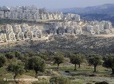 An Israeli settlement