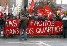 Anti-Anti-Islam protest protests in Paris (photo: private copyright)