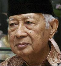 Former president of Indonesia, Suharto (photo: AP)