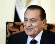 Egypt's President Hosni Mubarak (photo: AP)