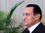 Egypt's president, Hosni Mubarak (photo: AP)