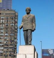 Naguib Mahfouz  Monument in Cairo (photo: Wikipedia)