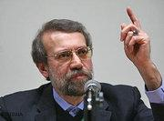 Ali Larijani, the speaker of the Iranian parliament (photo: AP)