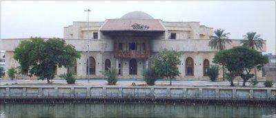 The National Museum in the Lakeside Palace, Basra (photo: AP)