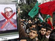 Demonstration against Ben Ali in Tunisia (photo: dpa)