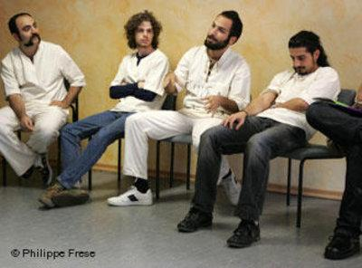 The Iranian rock band Dash (photo: Phillippe Frese/DW)