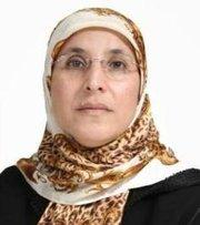 Bassima Haqqaoui (photo: www.parlament.ma)