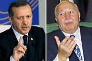 Current Turkish PM Recep Tayyip Erdogan (left) and Former Turkish PM Necmettin Erbakan (photo: dpa)