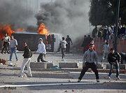 Riots in Marrakech on 20 February 2011 (photo: dapd)