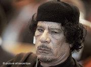 Muammar Gaddafi (photo: picture alliance/dpa)