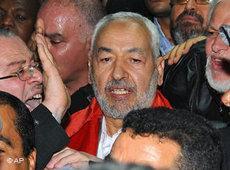 Rachid Ghanouchi (photo: AP)