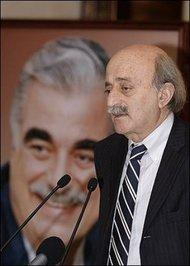 Walid Jumblatt (photo: AP)