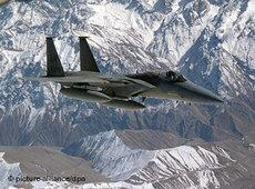 US fighter jet over the northern Iraqi no-fly zone (photo: picture-alliance/dpa)