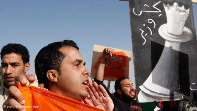 Protests in Jordan (photo: picture-alliance/dpa)