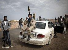 Insurgents in Libya (photo: dapd)
