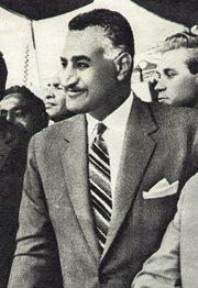 Gamal Abdel Nasser (photo: Wikipedia)