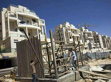 Settlement construction in East Jerusalem (photo: AP)