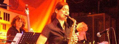 Saxophonist Angelika Niescier (photo: © DW)