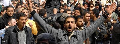 Anti-regime protests in front of the Umayyad Mosque in Damascus on March 25 (photo: Muzaffar Salman/AP)