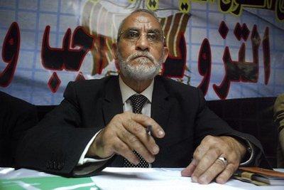 Mohammad Badie - leader of the Muslim Brotherhood in Egypt (photo: AP/dapd)