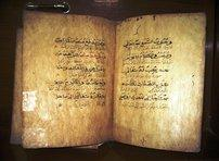 Bilingual collection of hadiths from 1856 (photo: Anett Keller)