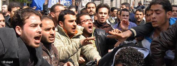 Protests against Bashar al-Assad in Damascus (photo: dapd)