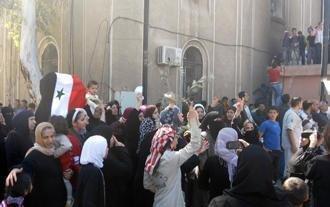Anti-regime protests in Daraa in April 2011 (photo: AP)
