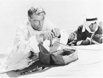 Scene from 'Lawrence of Arabia'