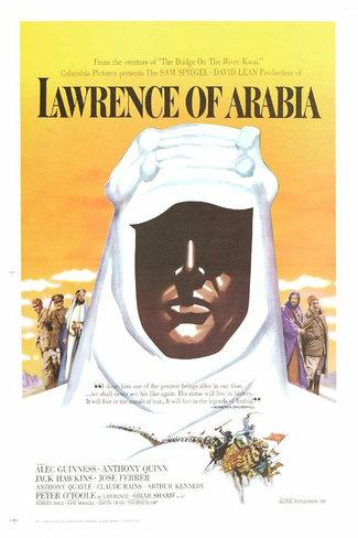 Movie poster 'Lawrence of Arabia'