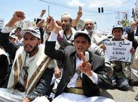 Protests in Saana, Yemen (picture-alliance/dpa)