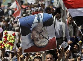 Protests in Saana, Yemen (photo: dapd)