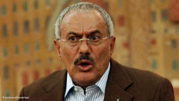 Ali Abdullah Saleh (photo: picture-alliance/dpa)