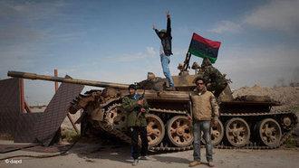 Rebells in Begazi (photo: dapd)