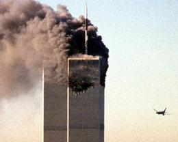 The terrorist attacks on the World Trad Center on September 11, 2001 (photo: dpa)