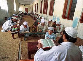 Koran school in Pakistan (photo: AP)