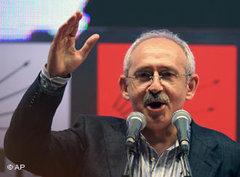 CHP leader Kemal Kilicdaroglu (photo: AP)