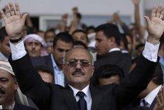 Yemen's nominal President Abdullah Saleh (photo: AP)