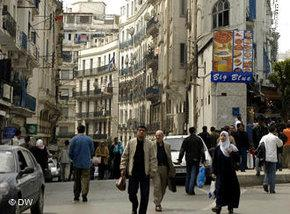 A street in Algiers (photo: DW)