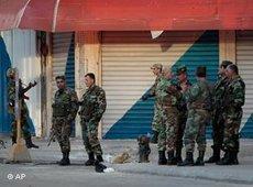 The Syrian army in Latakia (photo: AP)