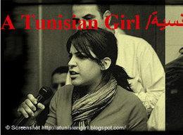 Lina Ben Mhenni (photo: atunisiangirl.blogspot.com)