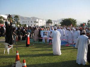 Protests in Oman (photo: DW)