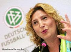 Gül Keskinler, commissioner for integration of the German Football Association (DFB), (photo: dpa)