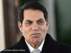 Ben Ali (photo: picture-alliance/dpa)