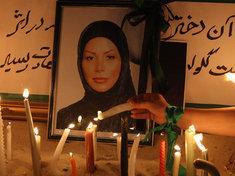 Neda Agha Soltan's grave (photo: dpa)